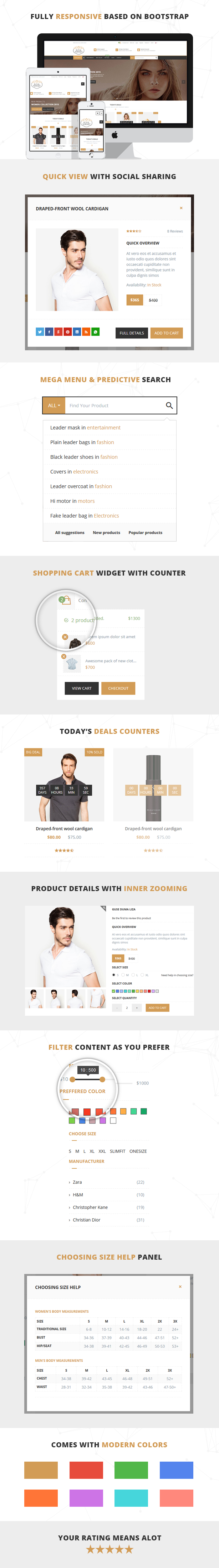 Royal Market - Responsive HTML5 Shopping Template